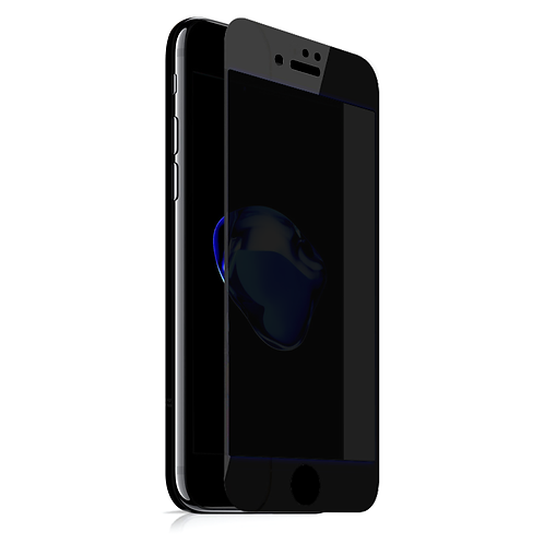 MAZER iPhone7+ FULL COVERED PRY GLS-BK