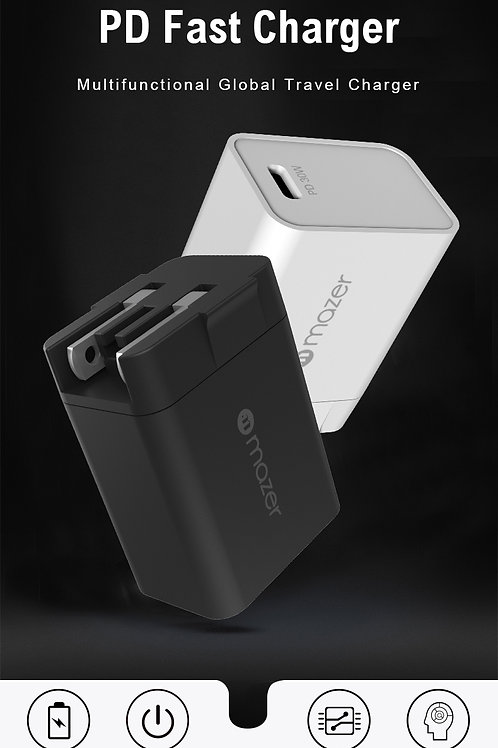 USB-C Power Delivery 30W Travel Charger