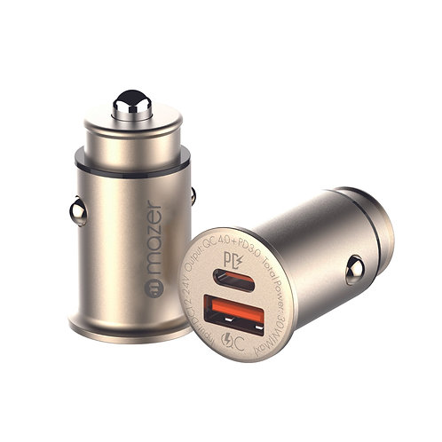Infinite.DRIVE SuperMINI DUAL Port Car Charger