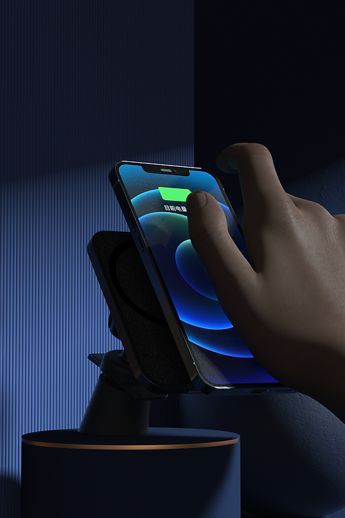 Infinite.BOOST MagDrive V2 15W Wireless Car Mount