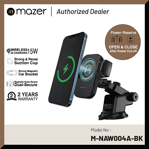Infinite.BOOST MagDrive V3 15W Wireless Car Mount (Double Secure)