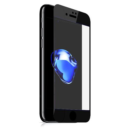 MAZER iPhone7+ FULL COVERED GLS-BK