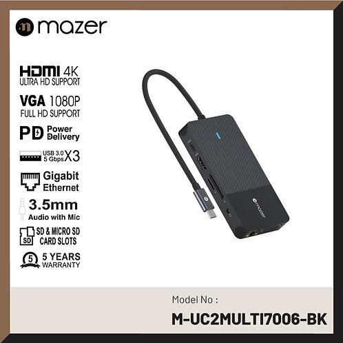 USB-C Multimedia Pro Hub 10-in-1 Black Edition