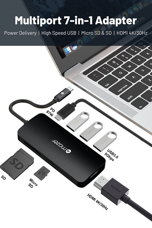 USB-C Multiport 7-in-1 Adapter