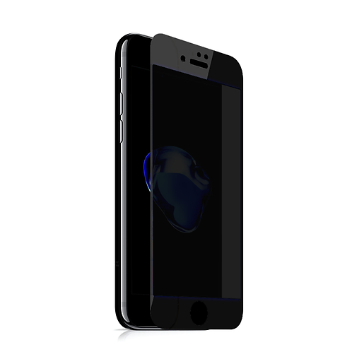 MAZER iPhone7 FULL COVERED PRY GLS-BK