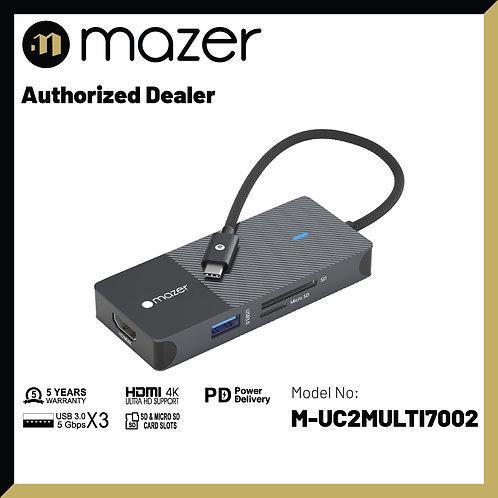 USB-C Multimedia Pro Hub 7-in-1 Black Edition