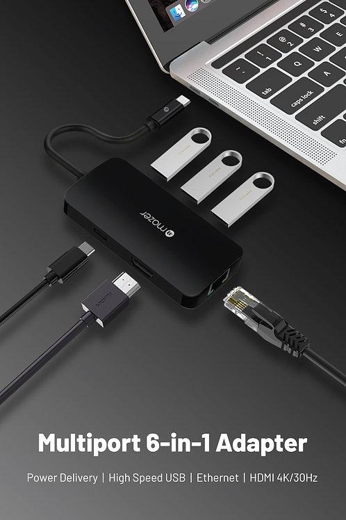 USB-C Multiport 6-in-1 Adapter