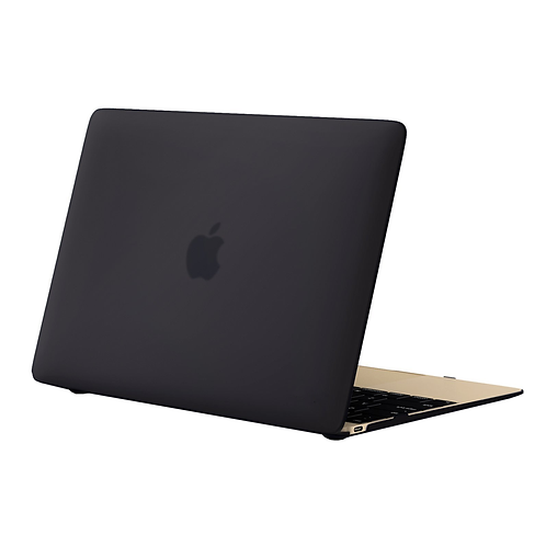 "MAZER Crystal Case for MacBook 12"" Retina-Frosted Black"