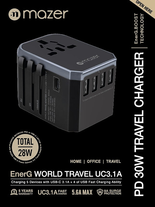 Power.WORLD TRAVEL UC3.1A
