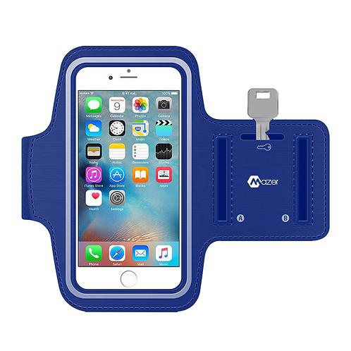 "MAZER FLEX Active Armband Size upto 5.7"" Blue"
