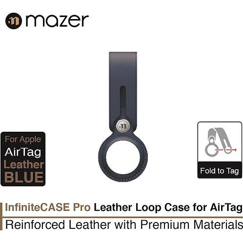 Mazer AirTag Loop Leather Case