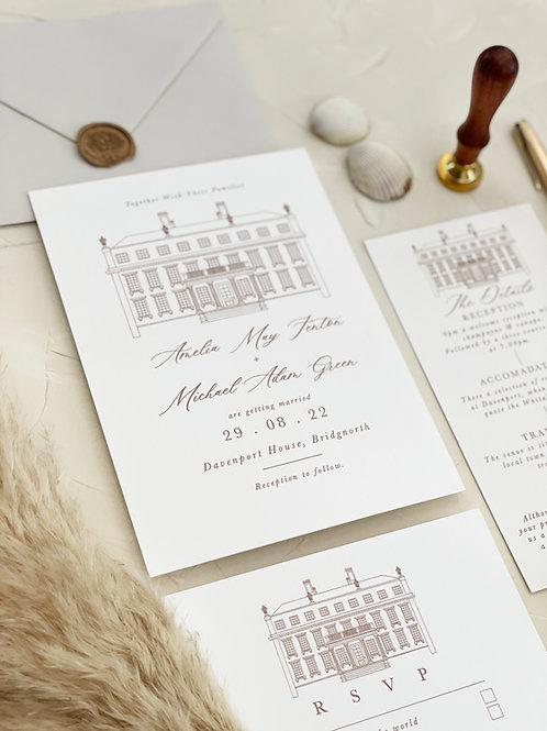 The Davenport Collection - Invitation Bundle