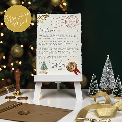Santa Letter | Personalised | Christmas letter | Letter to Santa