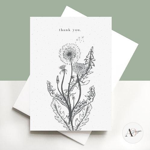 Thank you - Dandelions