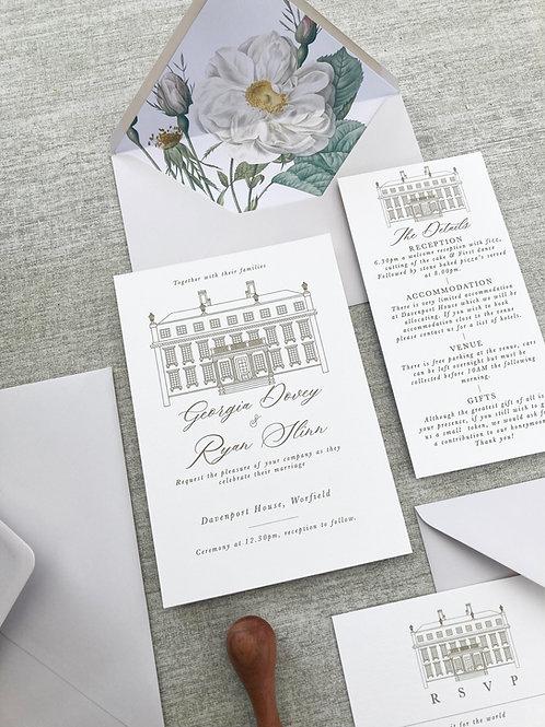 The Davenport Invitation Suite