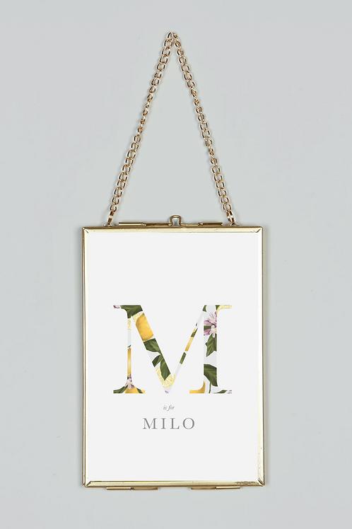 Personalised | Lemons | Cute | Lemon Print | Custom Name Print | Home Print