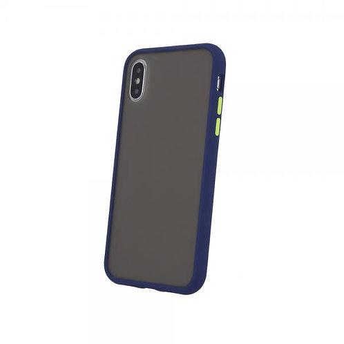 Калъф Colored Buttons /Син/ за Samsung A21s (A217F)