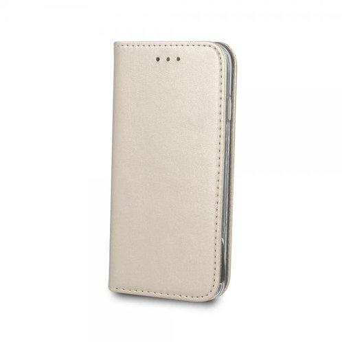 Калъф тефтер MAGNET /Златен/ за Xiaomi Redmi Note 8T