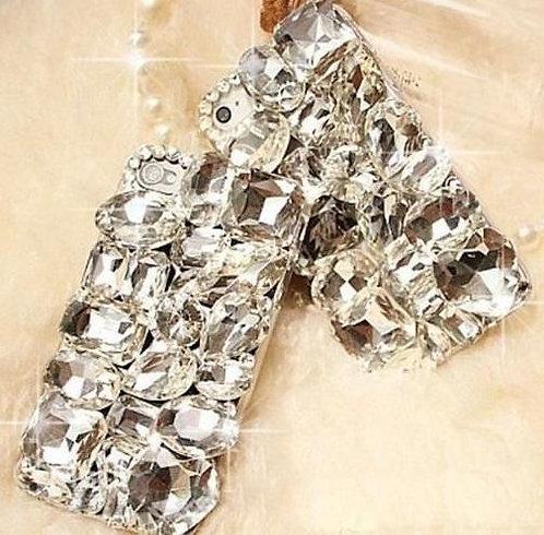 Калъф LUX BIG Crystal за iPhone X / XS 5.8 / Прозрачен-златен /