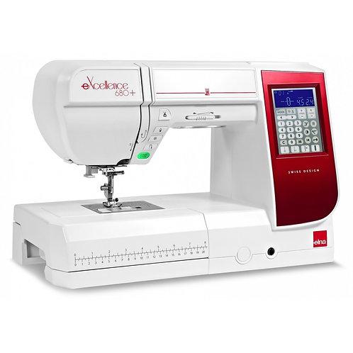 Шевна машина Elna 680+ еХcellence