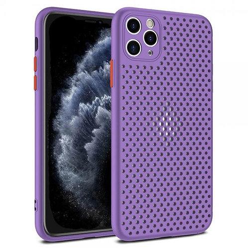 Калъф силикон Breath /Лилав/ за iPhone 12 PRO MAX 6.7