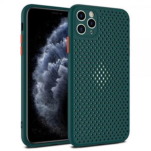 Калъф силикон Breath /Зелен/ за iPhone 12 PRO MAX 6.7