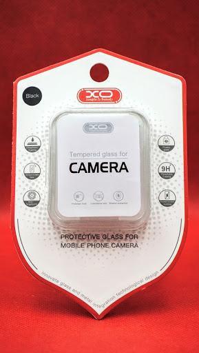 Стъклен screen protector камера XO FD13 / Черен / за iPhone 11 6.1