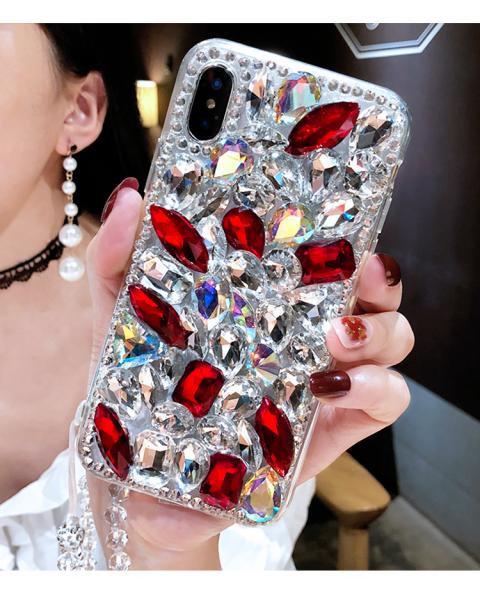 Калъф LUX BIG Crystal за iPhone 6G / 6S 4.7 / Прозрачен-розов /