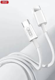 XO PD кабел /Бял/ Type-C - Type-C 40W XO-NB124