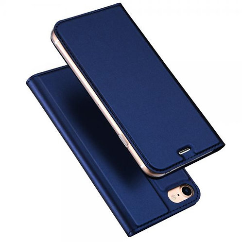 Калъф тефтер Dux Ducis Skin /Син/ за iPhone 12 Mini 5.4