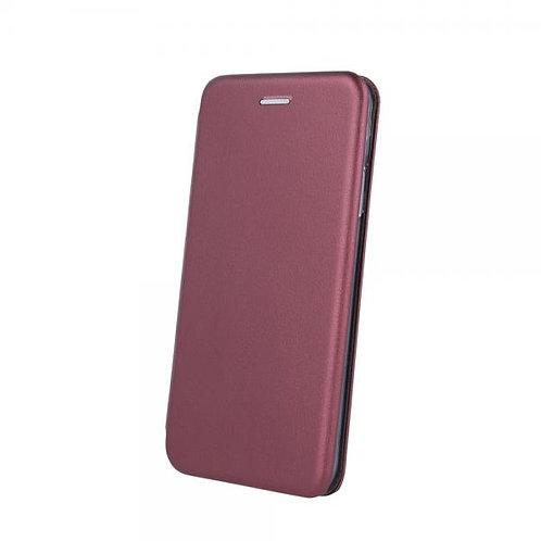 Калъф тефтер Smart DIVA / Бордо / за Samsung S10 Lite / A91
