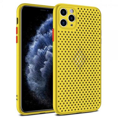 Калъф силикон Breath /Жълт/ за iPhone 11 PRO 5.8