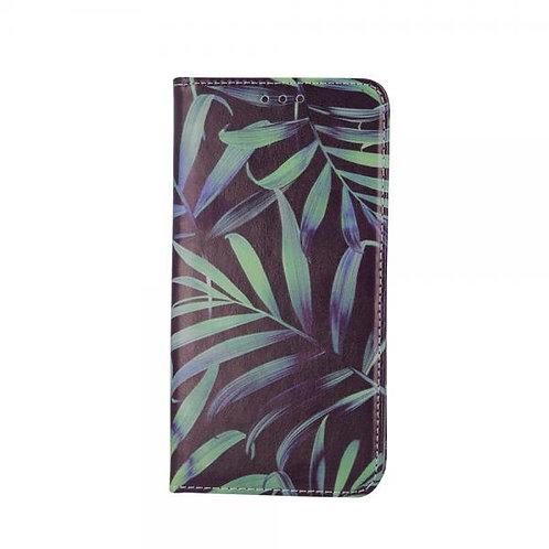 Калъф тефтер Trendy Plants 3 за Samsung A21s (A217F)