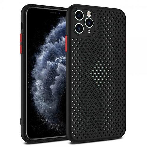 Калъф силикон Spigen Ultra Hybrid /черен/ за iPhone 12 Pro Max 6.7