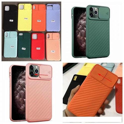 Калъф силикон Camera protection /Оранжев/ за iPhone 6G / 6S 4.7