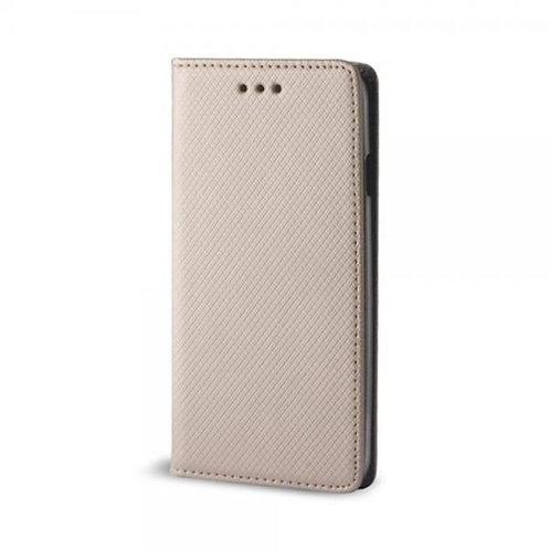 Калъф тефтер MAGNET /Златен/ за Samsung Note 20 (N980)