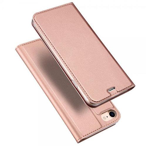 Калъф тефтер Dux Ducis Skin /Розов/ за iPhone 12 Mini 5.4