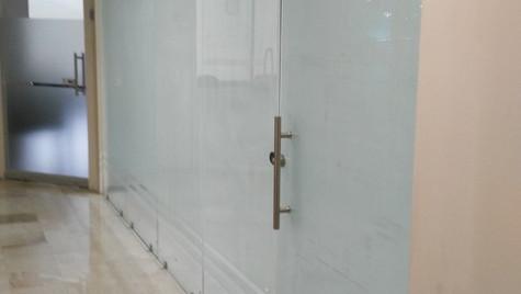 NEW ENTRANCE GLASS DOOR