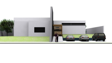 TIME HOUSE MODEL FRONT VIEW