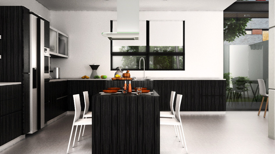 RENDER KITCHEN CHAPALITA