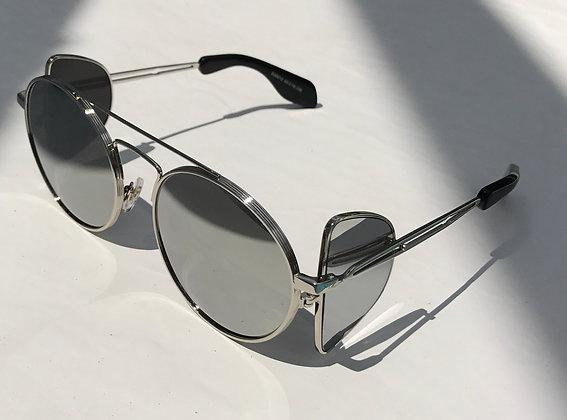 SZ9 - Black lens Vampire hunter sunglasses