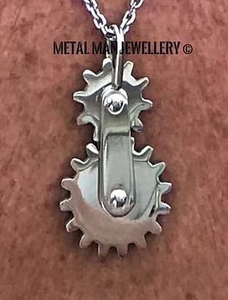 Gear pendant