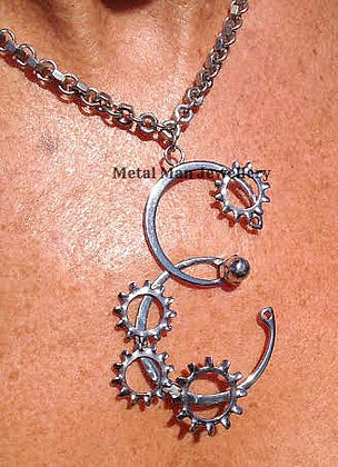RA4 - Retaining rings & star washer necklace