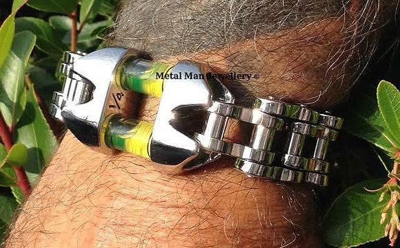 LBC - Double level with bike chain bracelet