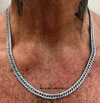 CUR1 - Thin curb necklace