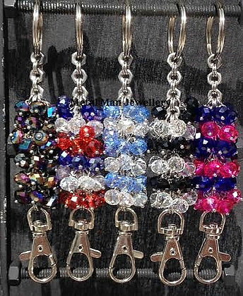 K - Bead Key Chain