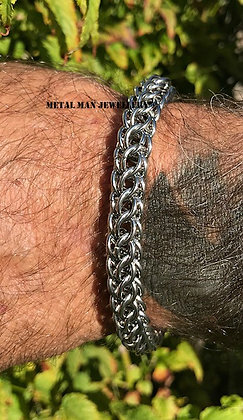 CM-10mm diameter Full Persian Chainmaille bracelet