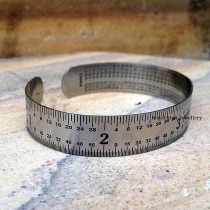 RU - Small width rule bangle
