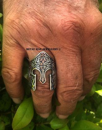 R19 - Spartan helmet ring