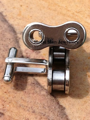 CU1 - Bike Chain Cufflinks
